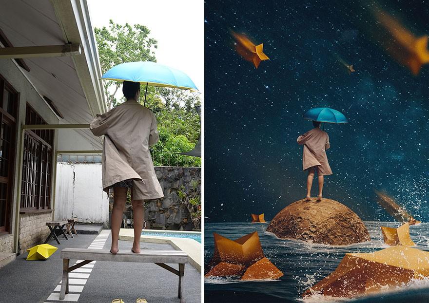 Tài năng Photoshop thượng thừa, cô nàng biến bộ ảnh vườn nhà thành những kiệt tác nghệ thuật - Ảnh 9.