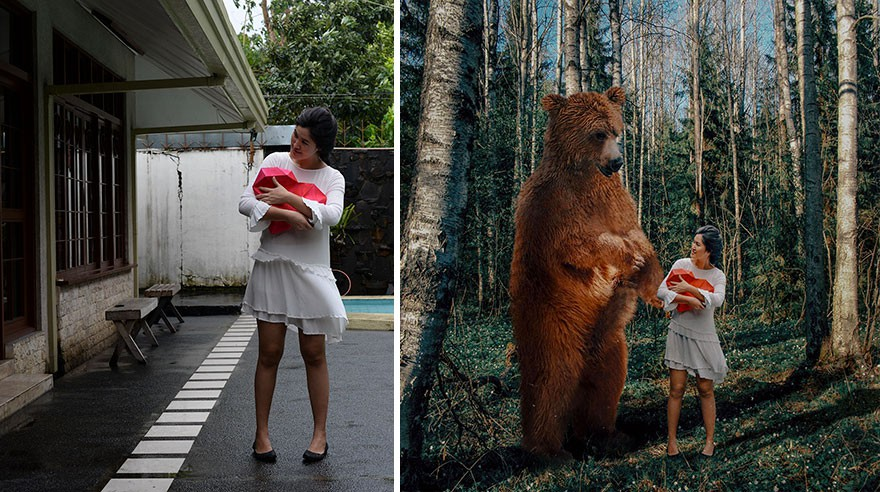 Tài năng Photoshop thượng thừa, cô nàng biến bộ ảnh vườn nhà thành những kiệt tác nghệ thuật - Ảnh 19.