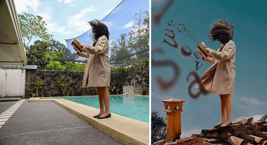 Tài năng Photoshop thượng thừa, cô nàng biến bộ ảnh vườn nhà thành những kiệt tác nghệ thuật - Ảnh 11.
