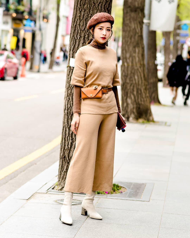 Mặc đẹp không thua kém giới trẻ Hàn, Chi Pu lọt ống kính nhiếp ảnh gia street style tại Seoul khi tới đây du lịch - Ảnh 5.