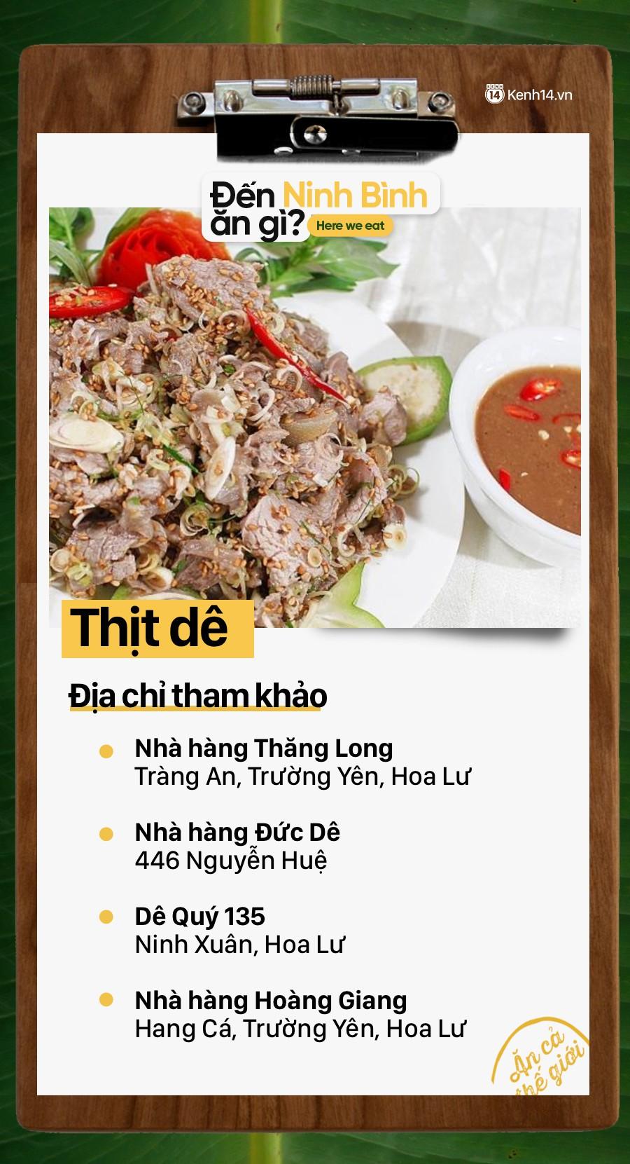 Không chỉ có nhiều cảnh đẹp, Ninh Bình còn rất nhiều món ăn ngon mà bạn cần khám phá - Ảnh 5.