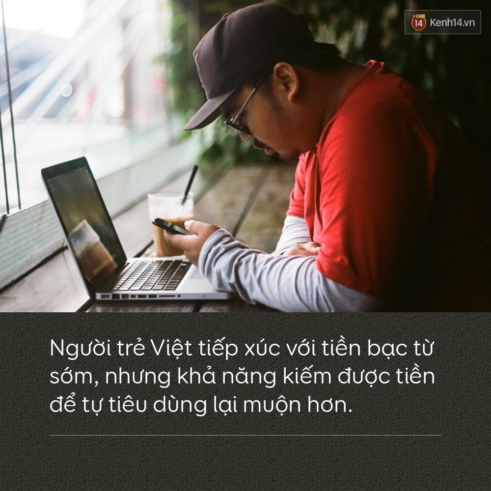 Người trẻ Việt tiếp xúc với tiền bạc từ sớm, nhưng khả năng kiếm được tiền để tự tiêu dùng lại muộn hơn - Ảnh 2.