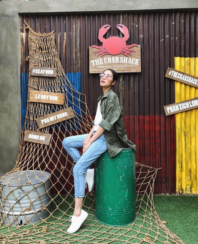 Học ngay cao thủ Hà Tăng cách chọn quần jeans giấu nhẹm nhược điểm chân cong - Ảnh 1.