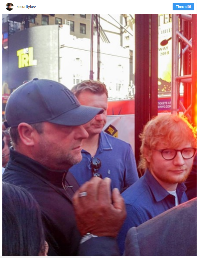 Chuyện làm bảo vệ của người nổi tiếng: Hiếm ai như Ed Sheeran, thuê ngay phải bảo vệ nghiện đem cả hai ra bông đùa - Ảnh 3.