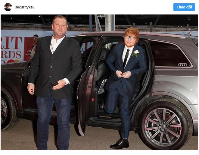 Chuyện làm bảo vệ của người nổi tiếng: Hiếm ai như Ed Sheeran, thuê ngay phải bảo vệ nghiện đem cả hai ra bông đùa - Ảnh 4.