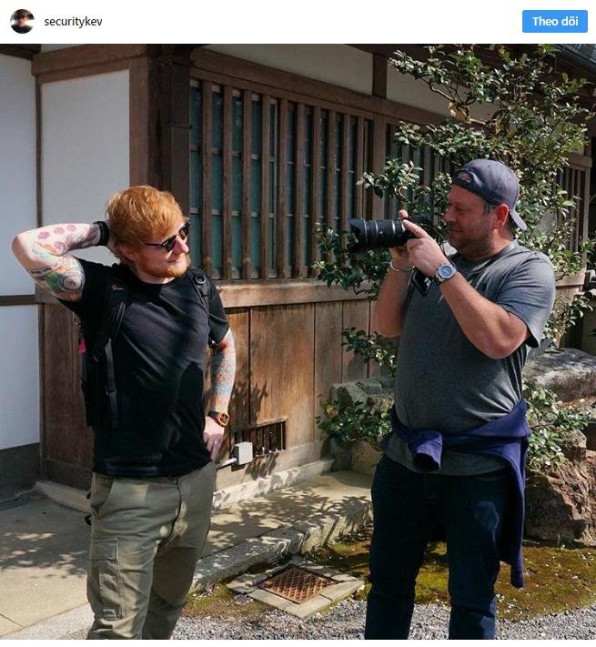 Chuyện làm bảo vệ của người nổi tiếng: Hiếm ai như Ed Sheeran, thuê ngay phải bảo vệ nghiện đem cả hai ra bông đùa - Ảnh 12.