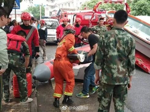 Trung Quốc: Tai nạn lật thuyền khiến 11 người chết - Ảnh 1.