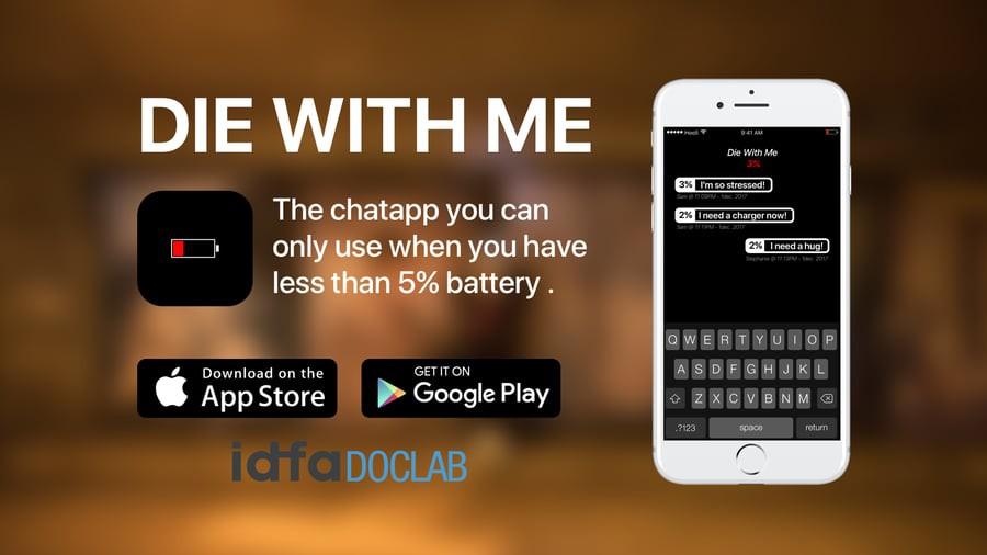 Ứng dụng nhắn tin quái dị: Chỉ sử dụng được khi điện thoại dưới 5% pin và sẽ nhắn ngẫu nhiên một ai đó - Ảnh 3.