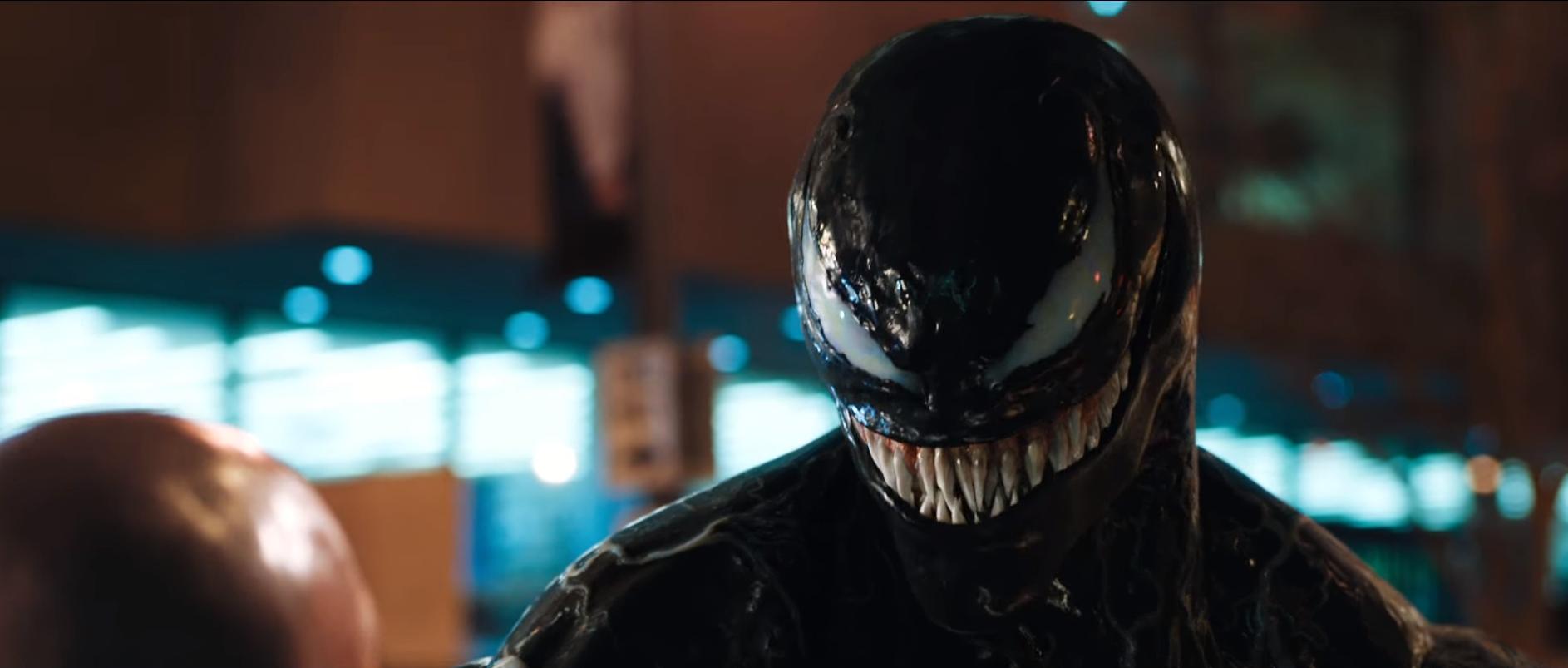 Sướng mắt ngắm phản diện Venom cực ngầu, vừa bạo lực trong thính nóng vừa tung - Ảnh 4.
