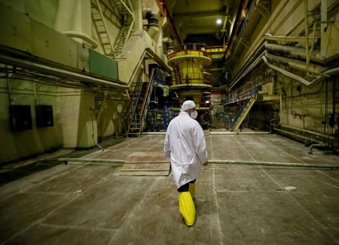 Ám ảnh bên trong nhà máy điện hạt nhân Chernobyl sau hơn 30 năm - Ảnh 7.