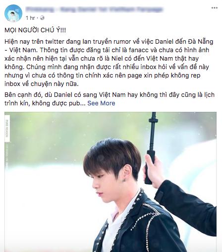 HOT: Fan Việt và quốc tế đang náo loạn trước tin center quốc dân Kang Daniel bí mật đến Đà Nẵng - Ảnh 7.