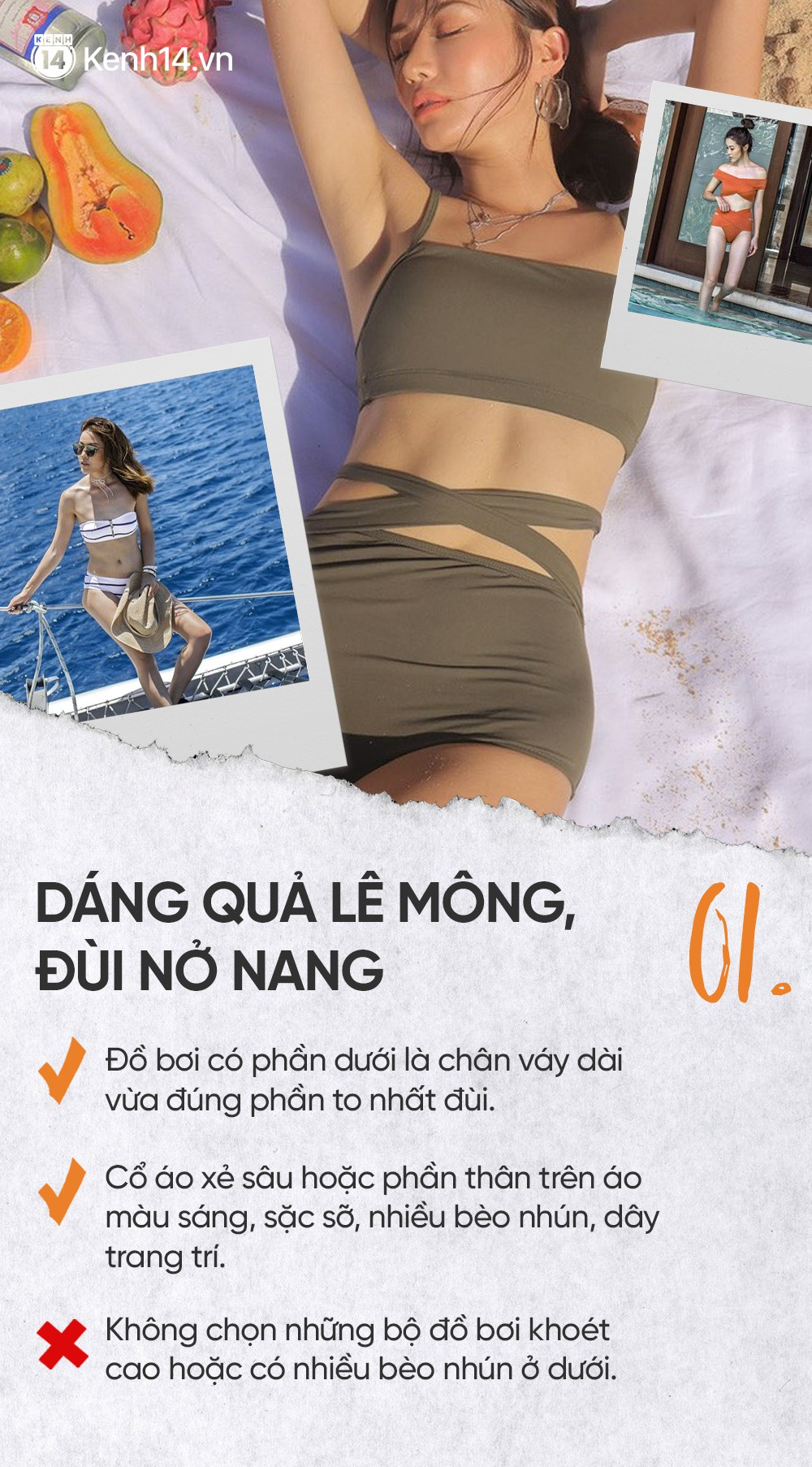Trọn bộ bí kíp chọn đồ bơi giúp bạn thoải mái sống ảo mà không lo về dáng - Ảnh 4.