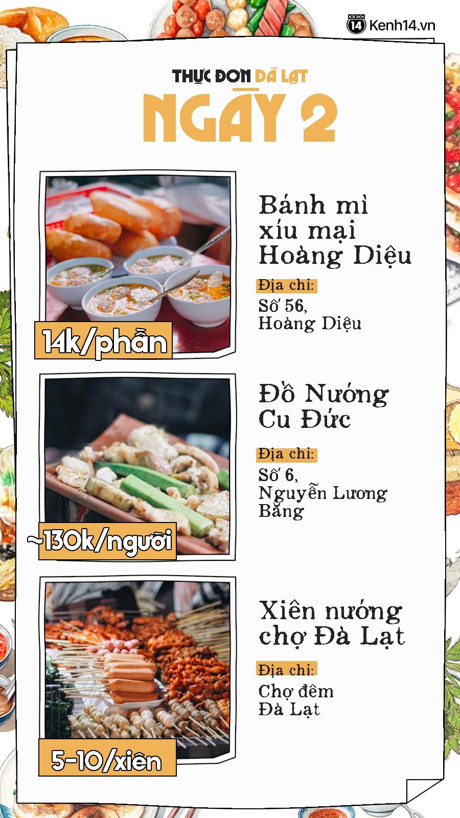 Đã có hẳn cẩm nang 7 ngày ăn ở Đà Lạt đây này, đi chơi chẳng lo phải nghĩ ngợi ăn gì ở đâu nữa - Ảnh 4.