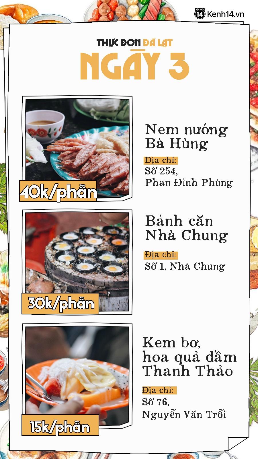 Đã có hẳn cẩm nang 7 ngày ăn ở Đà Lạt đây này, đi chơi chẳng lo phải nghĩ ngợi ăn gì ở đâu nữa - Ảnh 6.