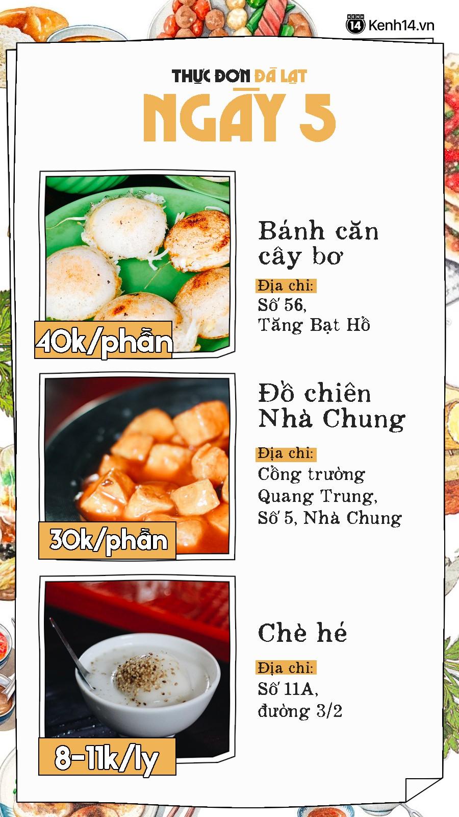 Đã có hẳn cẩm nang 7 ngày ăn ở Đà Lạt đây này, đi chơi chẳng lo phải nghĩ ngợi ăn gì ở đâu nữa - Ảnh 11.