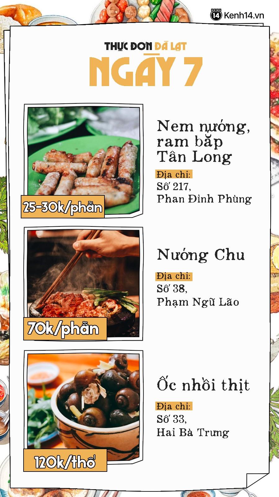Đã có hẳn cẩm nang 7 ngày ăn ở Đà Lạt đây này, đi chơi chẳng lo phải nghĩ ngợi ăn gì ở đâu nữa - Ảnh 15.