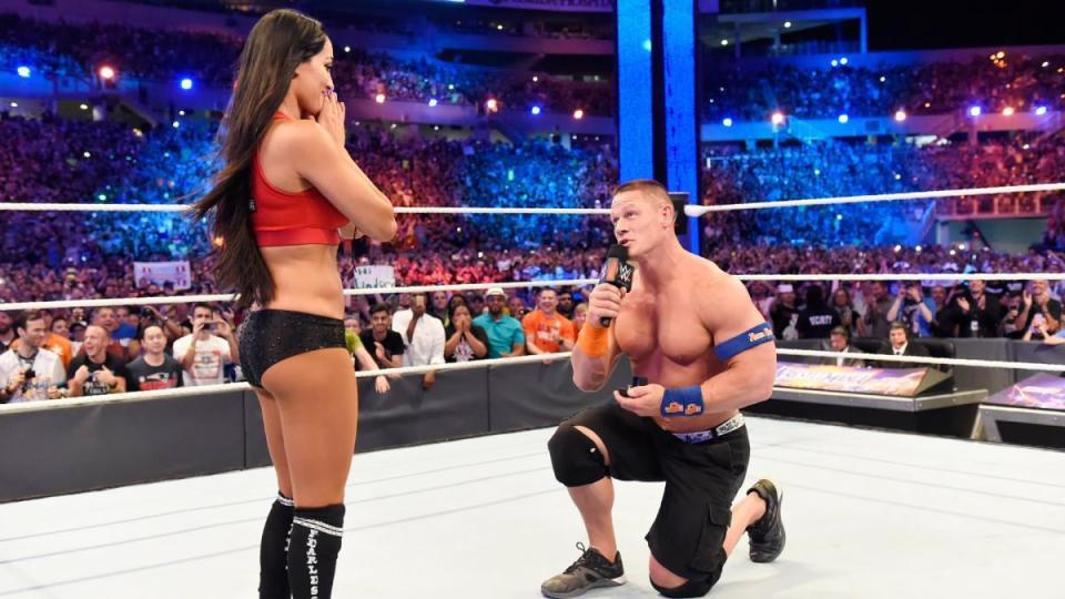 Đô vật huyền thoại John Cena lần đầu lên tiếng hậu chia tay bạn gái trong mơ - Ảnh 1.