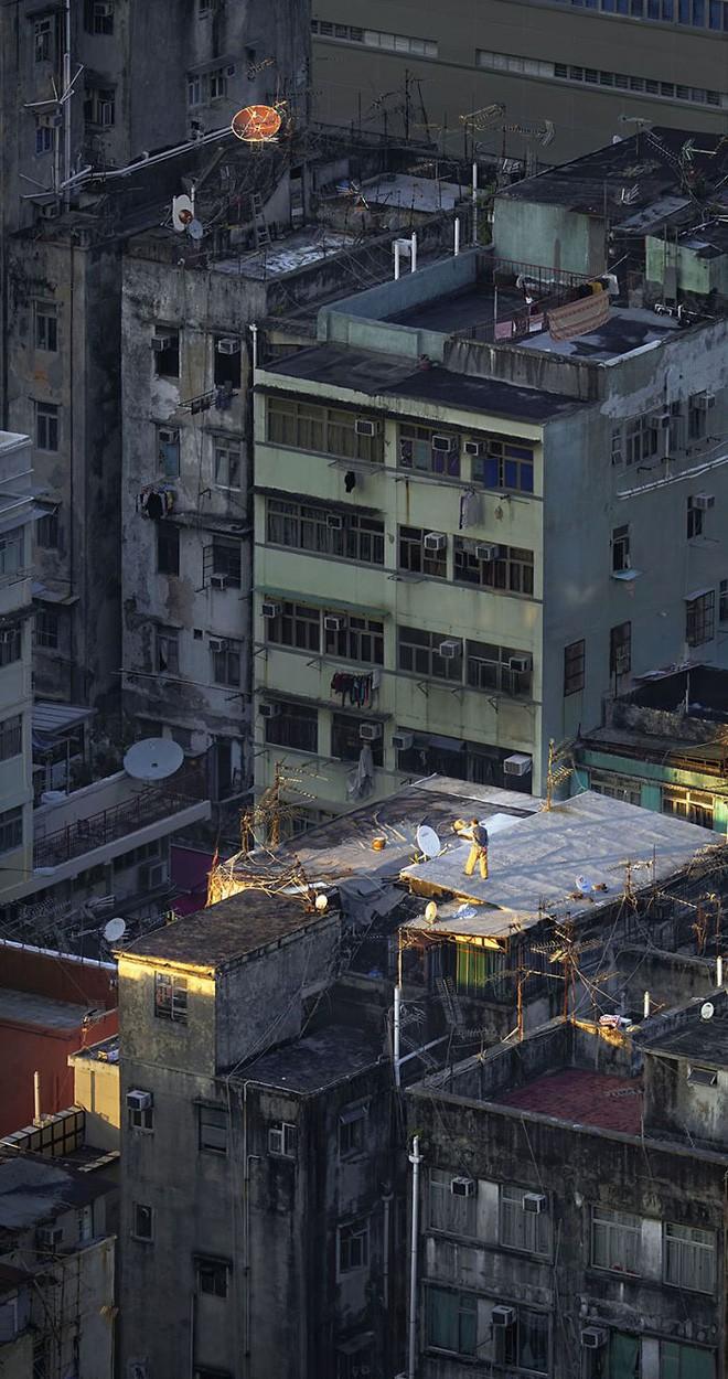 [Ảnh] Concrete stories: Cuộc sống muôn màu trên những tầng thượng của Hồng Kông - Ảnh 13.