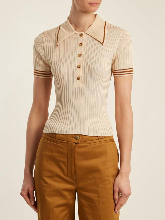Chán áo phông cổ tròn, hãy thử đổi gió sang kiểu áo cổ bẻ này xem sao - Ảnh 6.