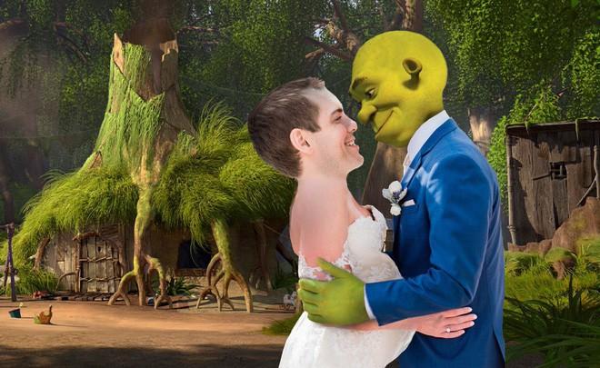 Cầu xin internet đừng photoshop ảnh cưới của mình, Youtuber vẫn nhận được những tấm ảnh chế cực hài hước - Ảnh 6.