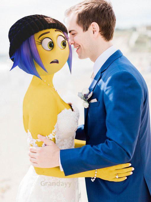Cầu xin internet đừng photoshop ảnh cưới của mình, Youtuber vẫn nhận được những tấm ảnh chế cực hài hước - Ảnh 8.