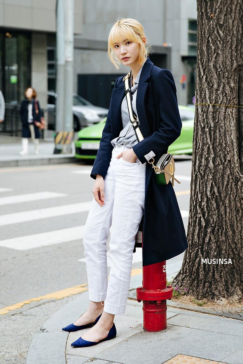 Lại phải ghen tị với khả năng lên đồ đơn giản mà chất như nước cất của giới trẻ Hàn - Ảnh 8.