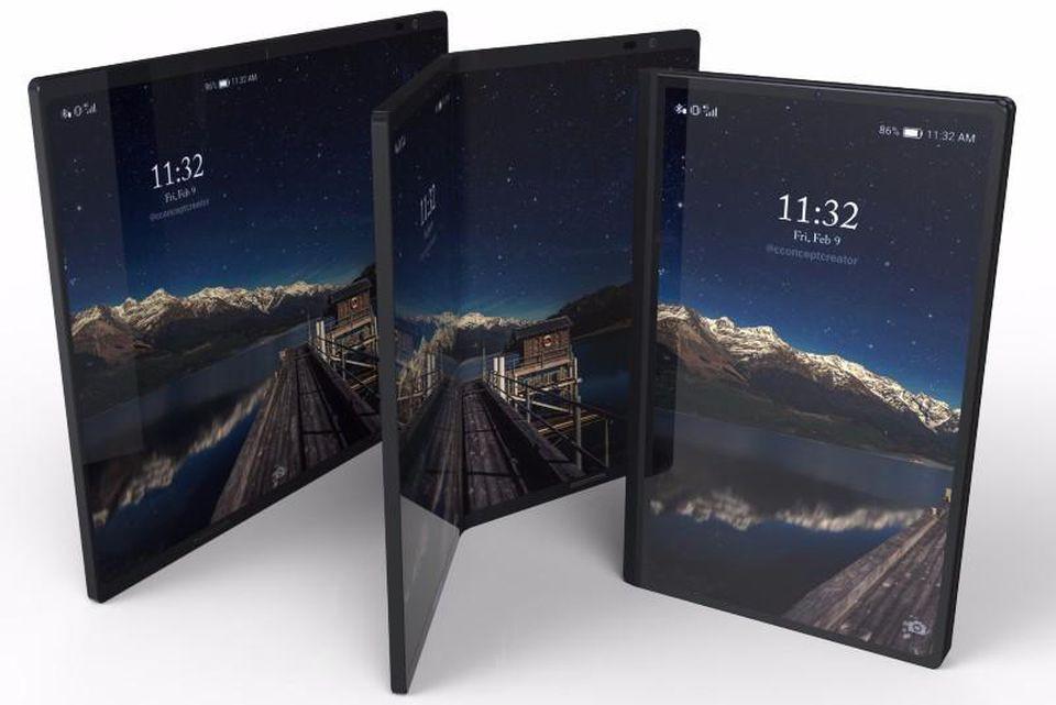 Siêu phẩm Samsung Galaxy X sẽ có tận 3 màn hình, ra mắt ngay năm sau? - Ảnh 2.