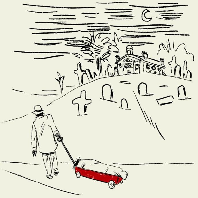 Ăn trộm xác chết về yêu - chuyện tình kinh dị có thật của thế kỷ 20 - Ảnh 5.