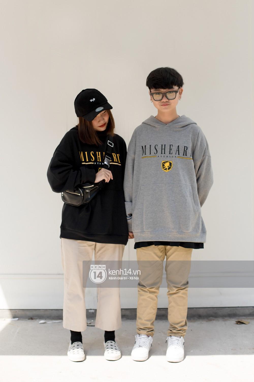 Street style 2 miền: Bên cạnh những món đồ hot trend, diện đồ đôi chính là chiêu mới để các bạn trẻ thể hiện phong cách - Ảnh 15.