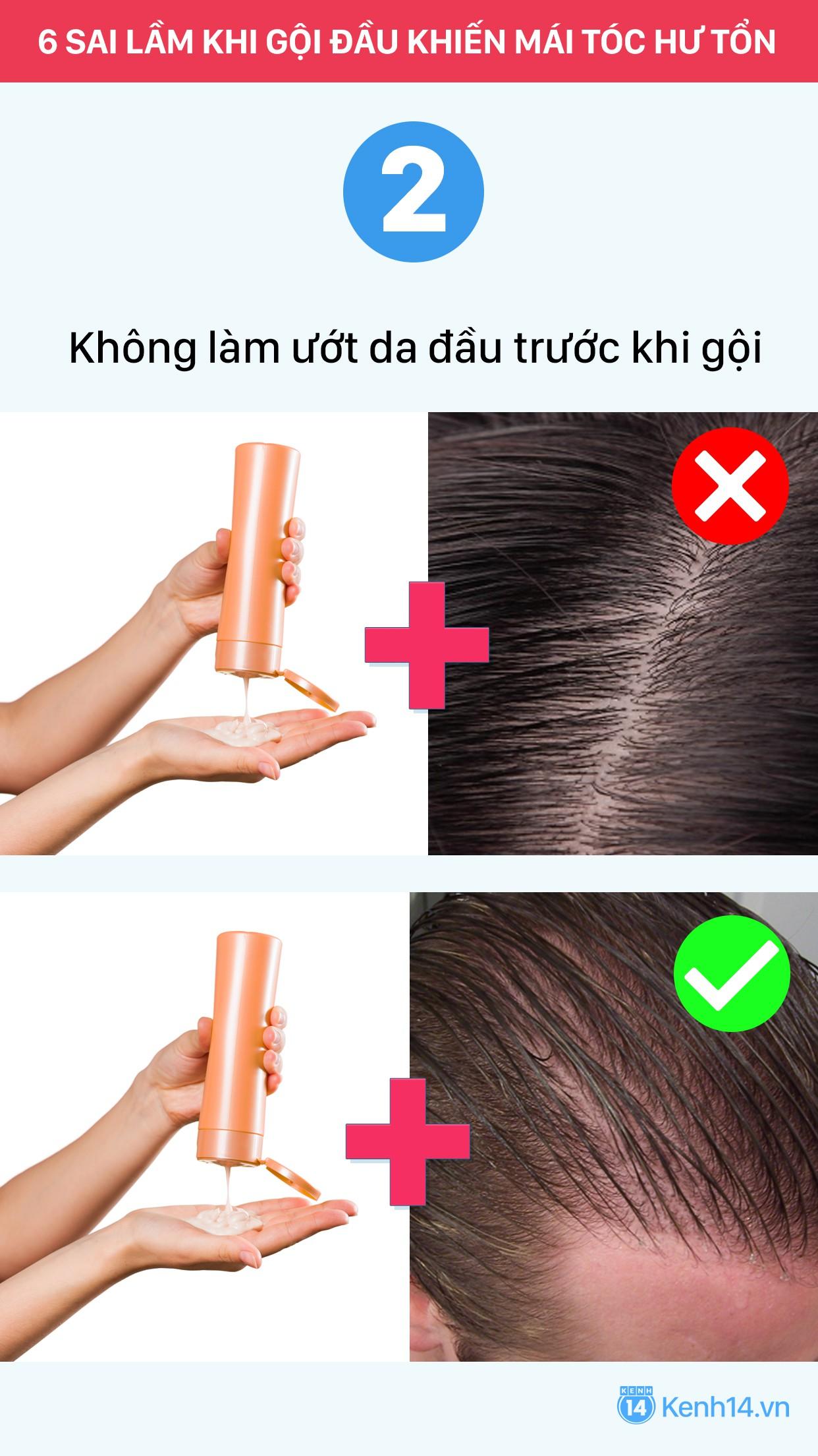 Sai lầm thường gặp khi gội đầu chỉ khiến mái tóc nhanh hư tổn - Ảnh 2.