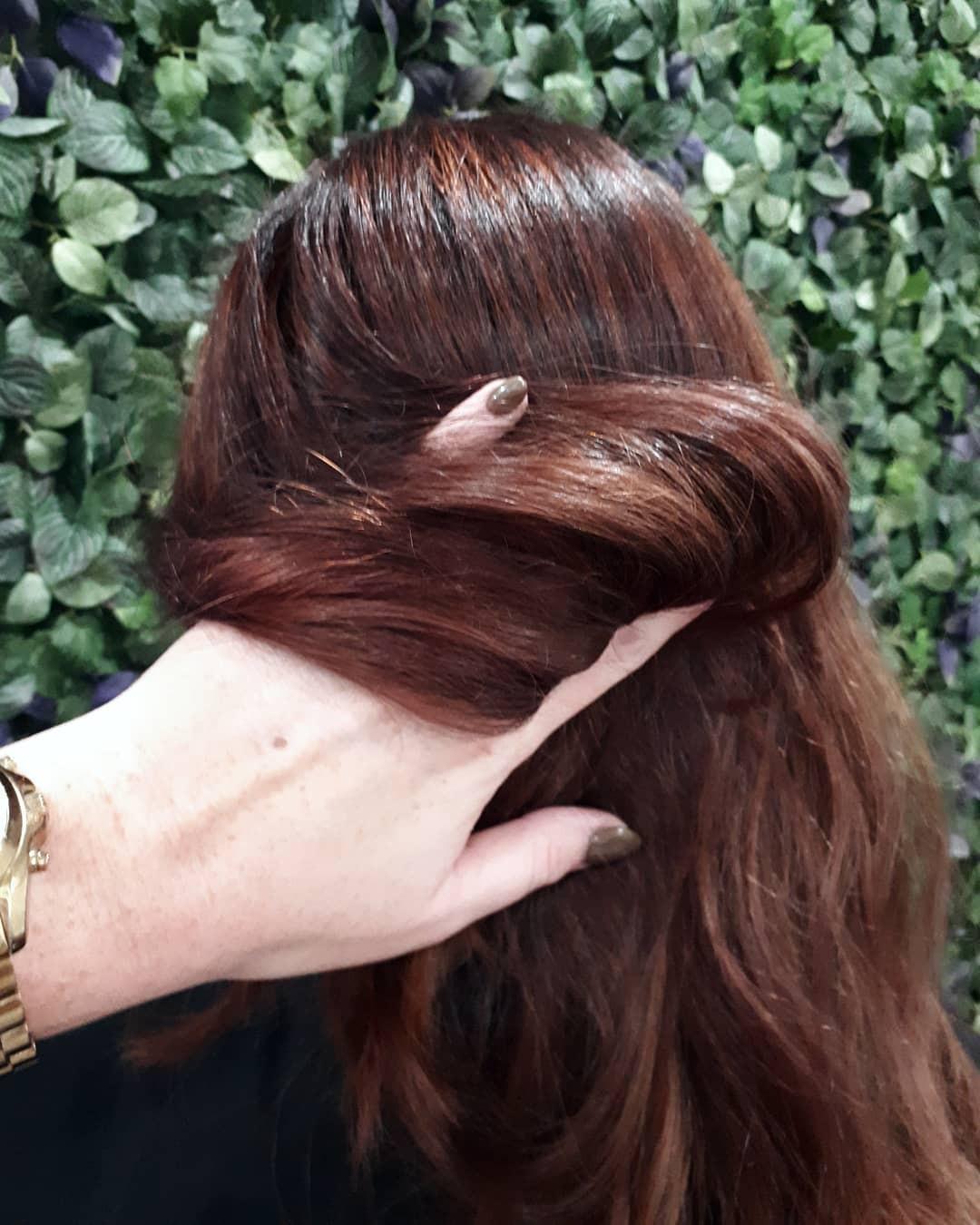 Cuối cùng cũng có một màu nhuộm đẹp long lanh mà con gái châu Á tóc đen có thể đu theo: màu nhuộm nâu hoa hồng - Ảnh 5.