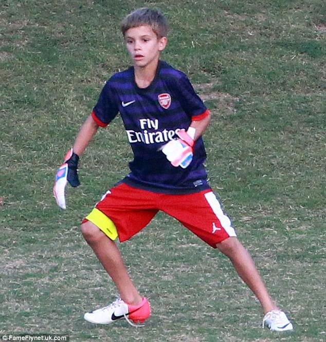 Con trai Beckham đấu tennis với tay vợt nữ số 2 thế giới - Ảnh 6.