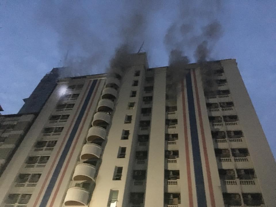 Người Việt hoảng loạn khi đám khói lớn bùng phát tại chung cư Thái Lan - Ảnh 2.