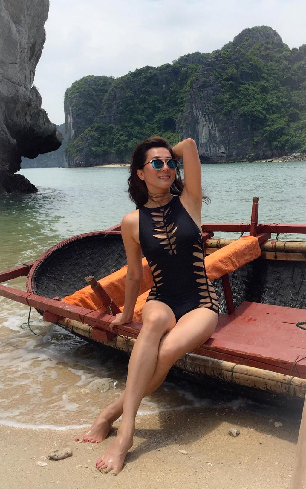 Mỹ nhân Vbiz U40, 50 thả dáng sexy với bikini: Nhìn Hoa hậu Hà Kiều Anh đã sốc, đến MC Kỳ Duyên mới khó tin! - Ảnh 13.