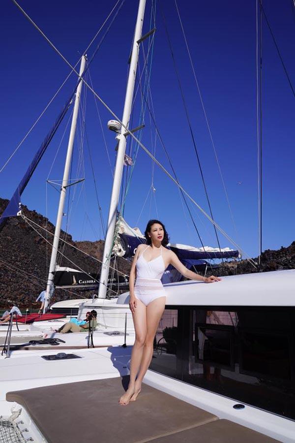 Mỹ nhân Vbiz U40, 50 thả dáng sexy với bikini: Nhìn Hoa hậu Hà Kiều Anh đã sốc, đến MC Kỳ Duyên mới khó tin! - Ảnh 4.