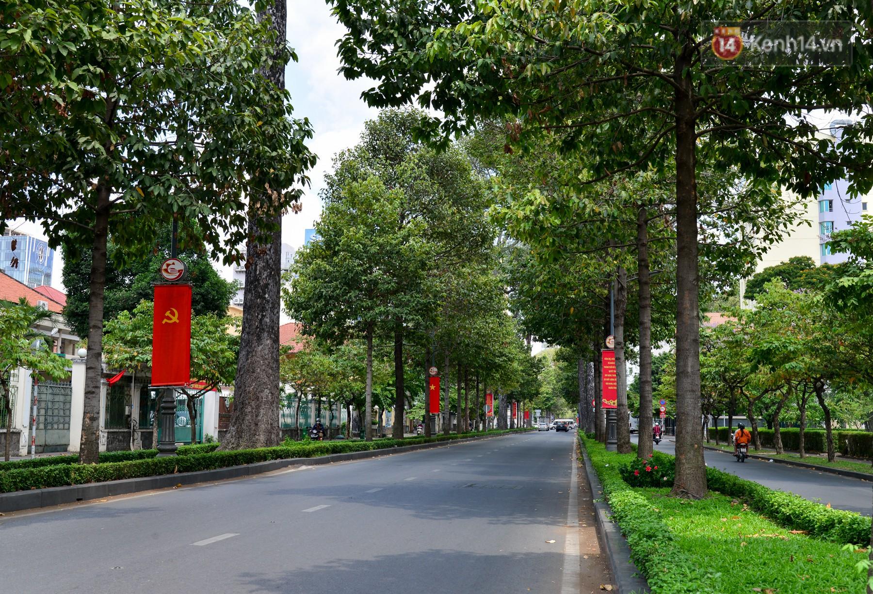 Chùm ảnh: Những ngày này, có một Sài Gòn tĩnh lặng lạ thường khi người dân đã rủ nhau đi trốn - Ảnh 8.