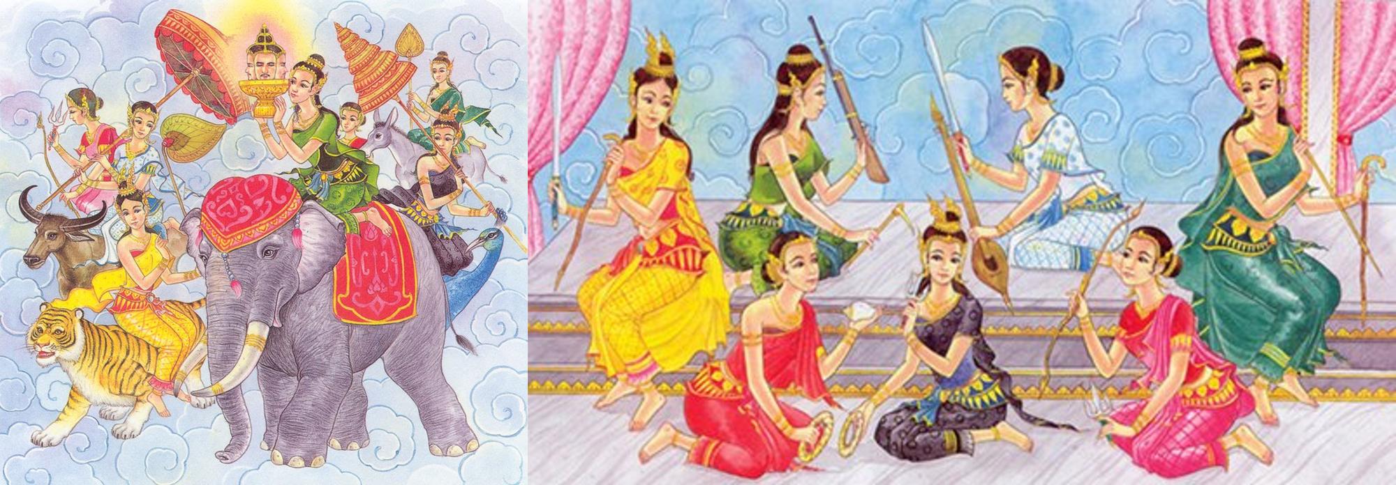 Lễ hội té nước Songkran: Đừng giữ mình khô ráo nếu muốn hưởng hạnh phúc! - Ảnh 4.