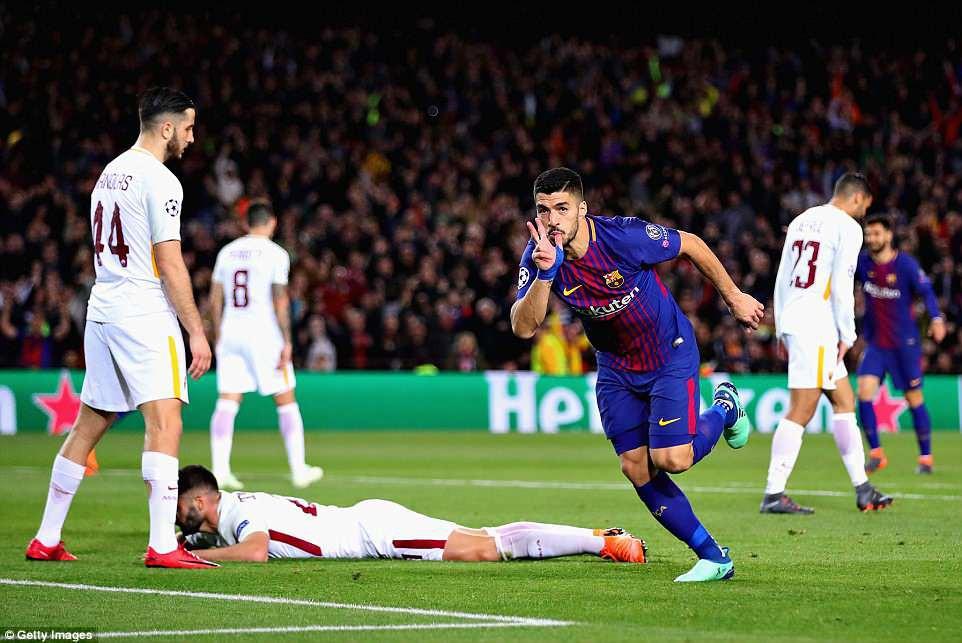 Messi Im Ti U1ebfng Barca V U1eabn Th U1eafng D U1ec5 Roma U0111 U1ec3 U0111 U1eb7t M U1ed9t Ch U00e2n