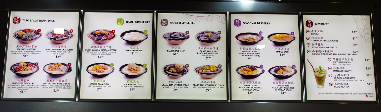 Đến Singapore đừng quên tìm đến cửa hàng tráng miệng Nine Fresh để thưởng thức những phần chè thảo mộc thanh mát - Ảnh 3.