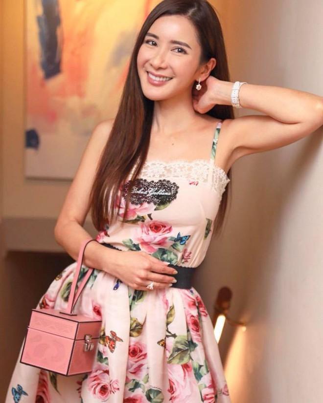 Jamie Chua - bà hoàng sở hữu nhiều túi Hermes nhất thế giới lộ nhan sắc khác lạ, cằm ngày càng dài ngoằng và nụ cười gượng gạo vô hồn - Ảnh 9.