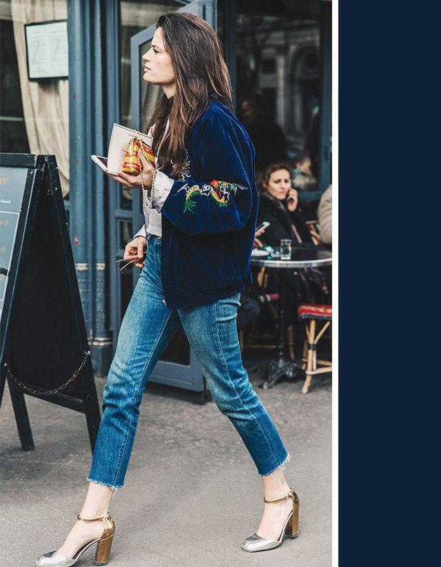 Không cần chọn kiểu dáng, chỉ cần kết hợp cùng 5 gam màu này là set đồ với quần jeans nhìn long lanh hết mức - Ảnh 5.