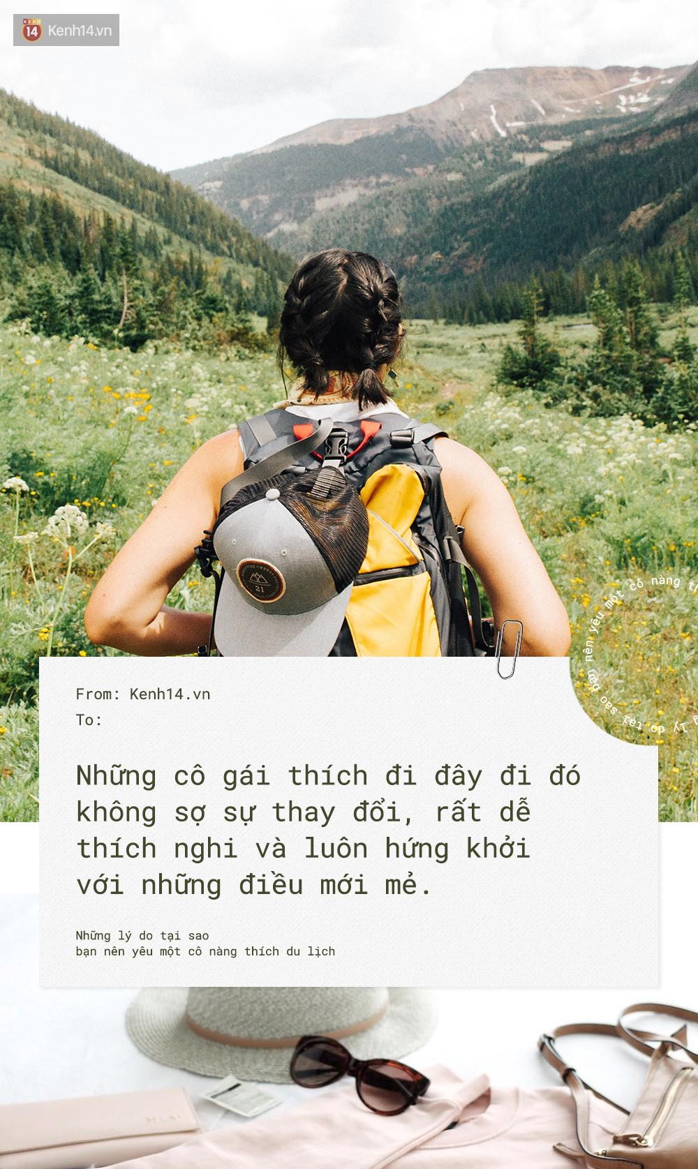 9 lý do vì sao bạn nên cảm thấy hạnh phúc khi bạn gái thuộc team thích du lịch - Ảnh 5.