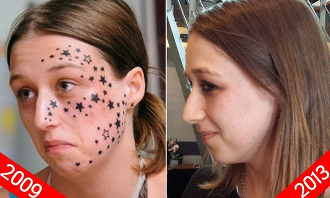 Lỡ thiếp đi một chút, cô gái trẻ kinh hoàng khi thức dậy đã bị xăm 56 ngôi sao trên mặt và kết cục không ai ngờ - Ảnh 4.