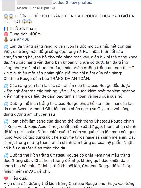 Kem dưỡng dành riêng cho người da đen và da màu của Pháp lại được tung hê hết lời như một loại kem kích trắng da ở Việt Nam? - Ảnh 9.