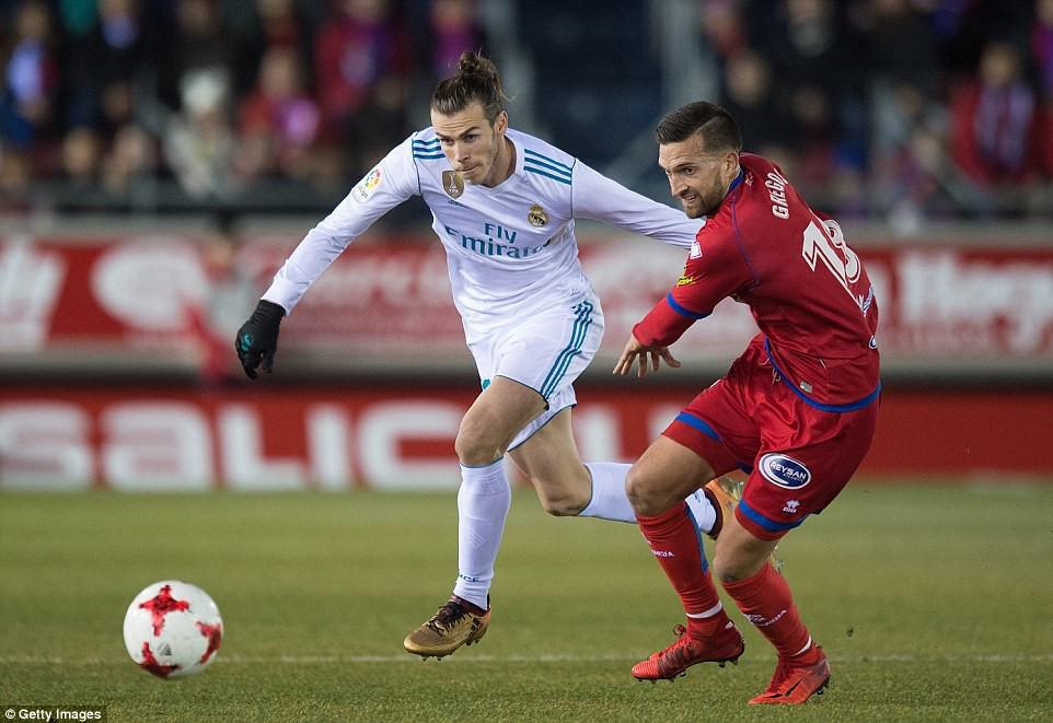 Bale ghi bàn trên chấm penalty, Real Madrid đặt một chân vào tứ kết Cúp Nhà vua - Ảnh 3.