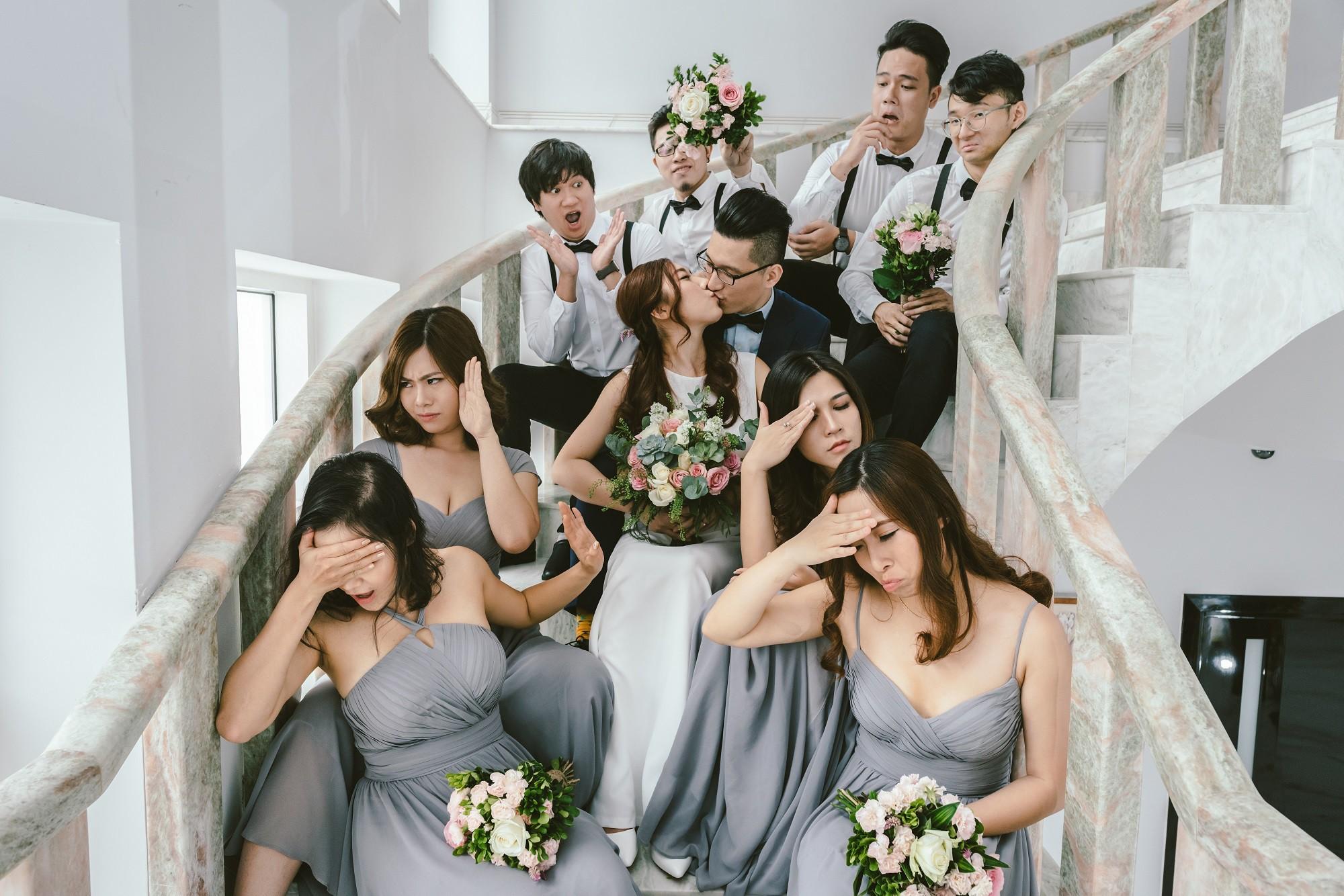 Em gái Trấn Thành kết hôn với bạn trai Hồng Kông, tung bộ ảnh cưới nhắng nhít cùng hội bạn thân - Ảnh 17.