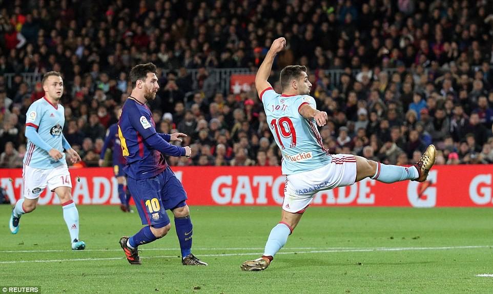 Messi lập cú đúp, Barca giành chiến thắng 5 sao - Ảnh 4.