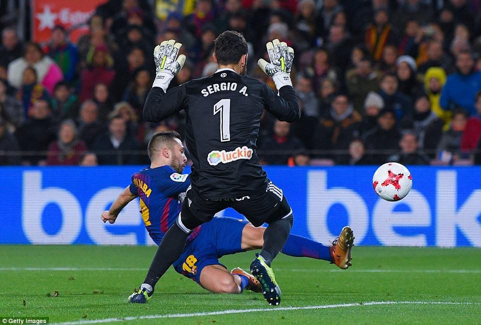 Messi lập cú đúp, Barca giành chiến thắng 5 sao - Ảnh 6.