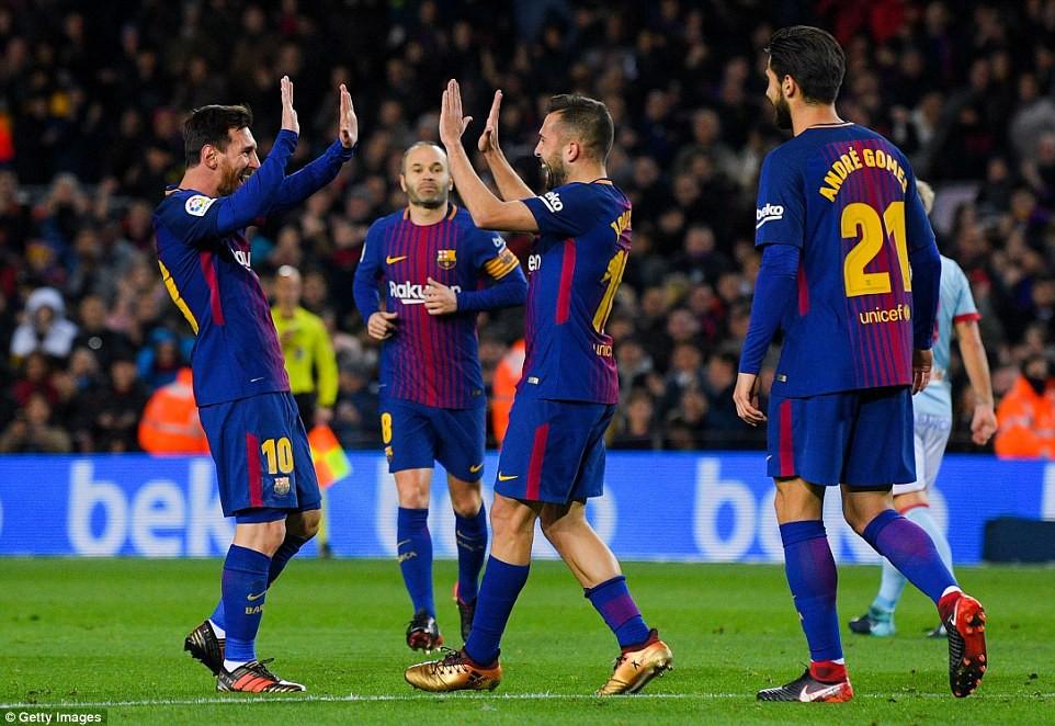 Messi lập cú đúp, Barca giành chiến thắng 5 sao - Ảnh 5.