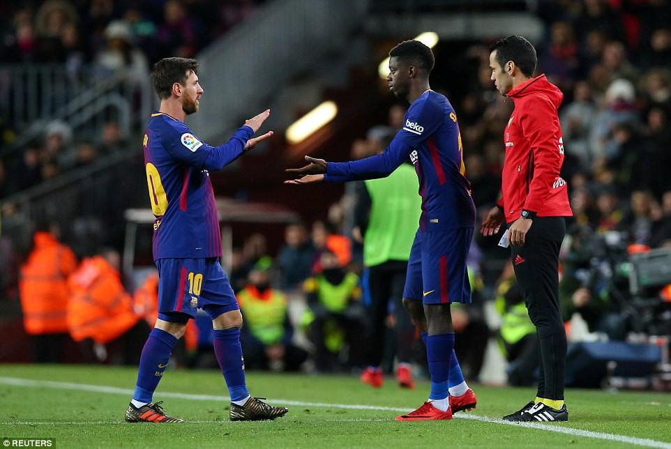 Messi lập cú đúp, Barca giành chiến thắng 5 sao - Ảnh 8.